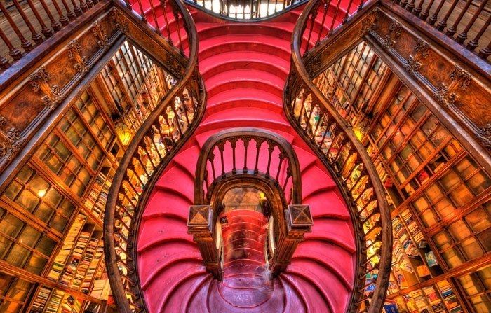 beautiful bookstore world porto lello irmao 1